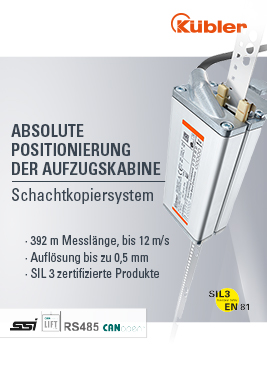 lift report magazin Kübler